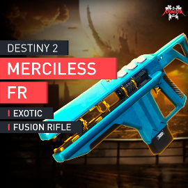 Destiny 2 - Exotische Fusionsgewehr Unbamherzig Exotic Fusion Rifle Merciless FR