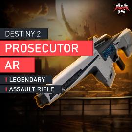 Destiny 2 - Prosecutor Legendary Auto Rifle Ankläger Legendäres Automatikgewehr