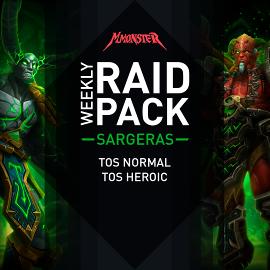 Weekly SARGERAS Raid Pack - Das Grabmal des Sargeras Normal + Heroisch NHC + HC